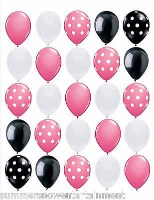 Polka Dot Princess: Pink, Black, White, Polka Dot, (25pc), 11