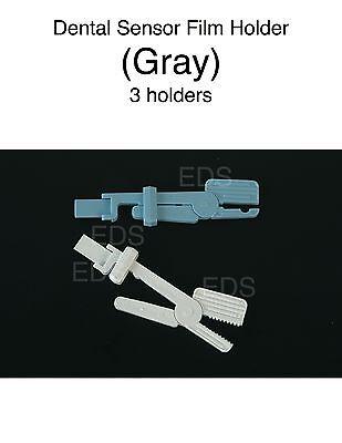 Dental Sensor Film Holder - Gray 3 Per Box