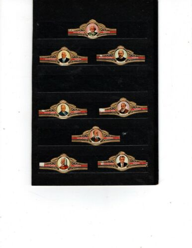 CIGAR BANDS ----  VICTOR HUGO   ---  ALL DIFFERENT ---  (SERIES 0056)