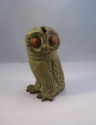 Tremar Pottery Owl Money Box
