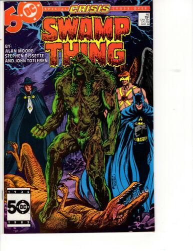 Swamp Thing #46 DC Comics 1986 Comic Book