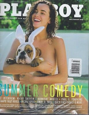 Playboy  July/August 2018  Summery Comedy