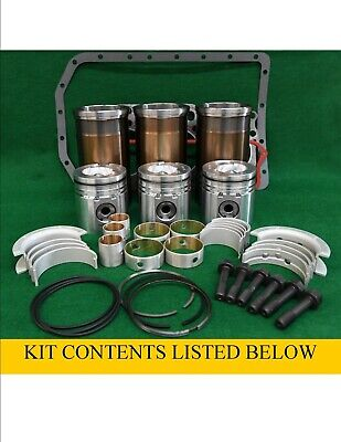 Pbk316 N843 Shibaura Engine Inframe Overhaul Kit D33 Dx31 Dx33 L140 L150 Ls465