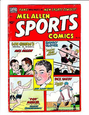 Mel Allen Sports Comics   No.6     : 1950 :     : Lou Gehrigs Story! :