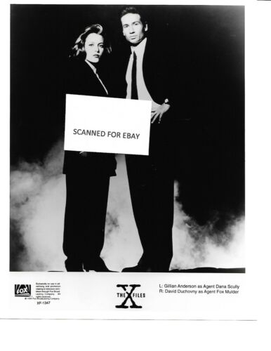 X-Files Press Photo Mulder Scully Anderson Duchovny