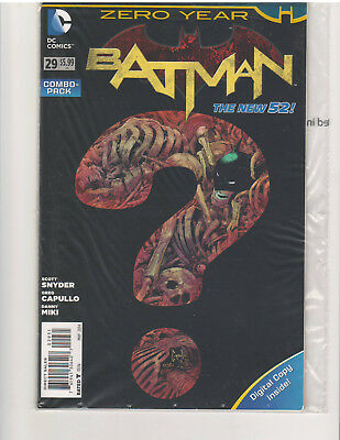 BATMAN #29 COMBO PACK, NEW 52, NM or Better, (DC COMICS, MAY