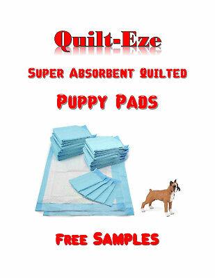 300-Quilt-Eze Super Absorbent Puppy Training Pee Pads 17x24