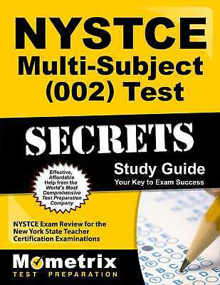 Nystce Multi Subject  002  Test Secrets Study Guide