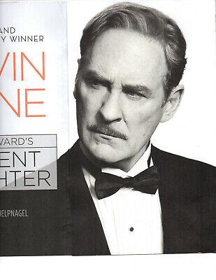 Kevin Kline Present Laughter Broadway mailer ad Noel Coward Kate Burton Klein -