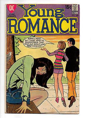 YOUNG ROMANCE 168 DC COMICS ROMANCE NOVEMBER 1970 VINCE COLLETTA LEE ELIAS