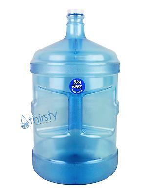BPA Free 5 Gallon Water Bottle w/ Handle Reusable Jug