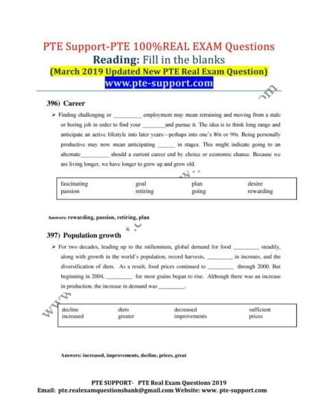 PTE 100% Real Exam Questions Bank-50% Discount- Updated Today