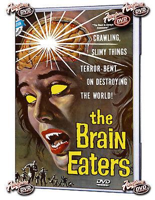 The Brain Eaters (1958) DVD Ed Nelson, Alan Jay Factor, Cornelius Keefe