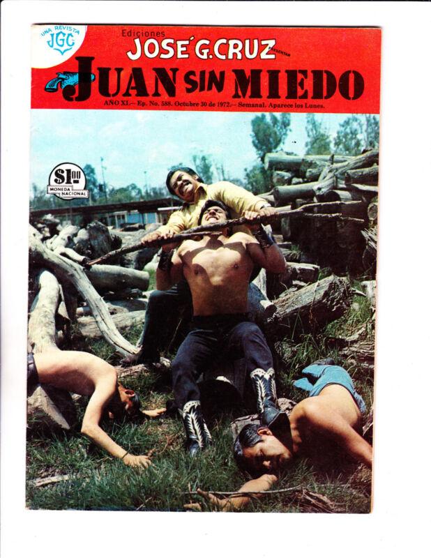 "Jaun Sin Miedo No 588 -1972 -Spanish-""Photo Cover! """