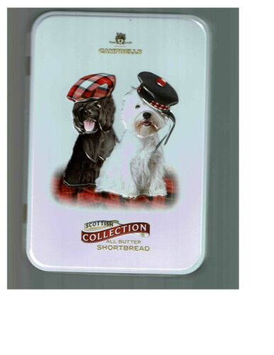 Scottish Terrier West Highland White Terrier Dog Collectible Tin