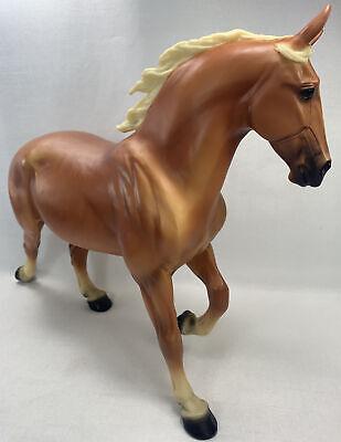 Breyer Traditional Percheron Mare 'WIXOM' Palomino Belgian 1252 2004-06 Horse