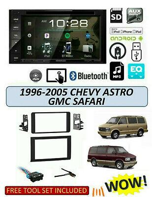 1996-05 Chevrolet Astro GMC Safari STEREO KIT, BLUETOOTH TOUCHSCREEN