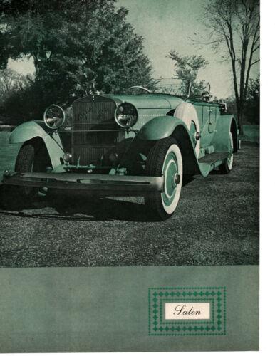 1926 HISPANO SUIZA DUAL COWL PHAETON ~ ORIGINAL 5-PAGE 1962 ARTICLE / AD