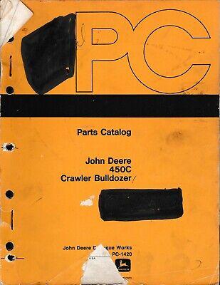 John Deere Jd450c Crawler Bulldozer Parts Manual
