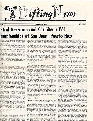 Ironman Lifting News Muscle Weightlifting Magazine Central American Contest 9 61