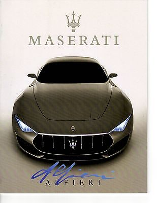 Maserati Alfieri & Maserati history booklet (38 pages) - softcover
