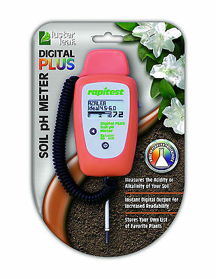 RAPITEST DELUXE DIGITAL Ph PLUS SOIL LAWN ...