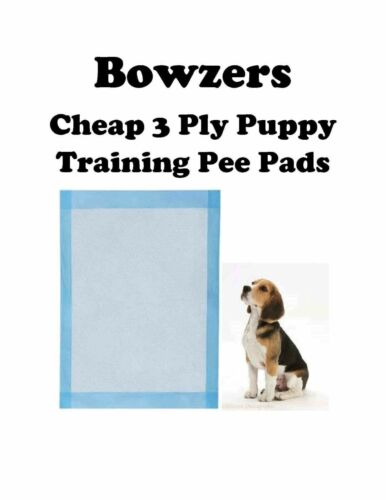 """17x24"""" 300-1200 Low Cost Economy Lightweight Economical Puppy Dog Piddle Pads"""