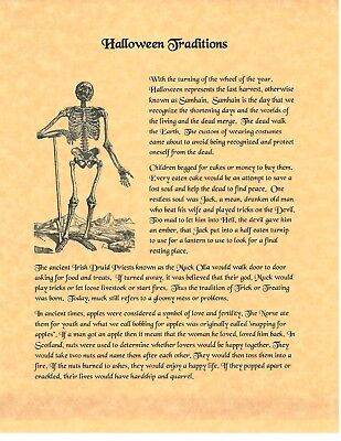 Book of Shadows Spell Pages ** Halloween Traditions ** Wicca Witchcraft BOS](Halloween Spells)