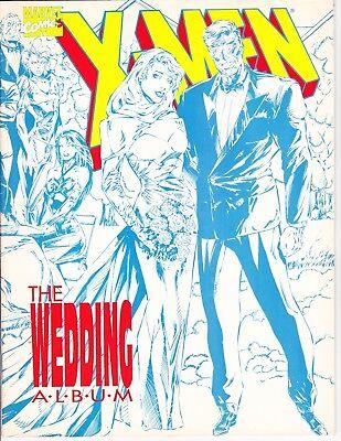 X-Men The Wedding Album #1 1994 Magazine Size - The Wedding Album