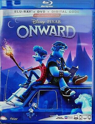 ONWARD (Blu-ray + DVD + Digital,2020) NEW* FREE SHIPPING!!!