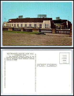 OHIO Postcard - Cleveland Municipal Stadium From Mall (Cleveland Mall)