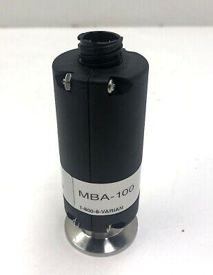 Agilent Varian Mba-100 Metal Bayard Alpert Ionization Gauge R1170301