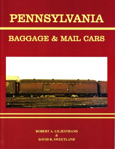Pennsylvania Baggage & Mail Cars Railroad Book