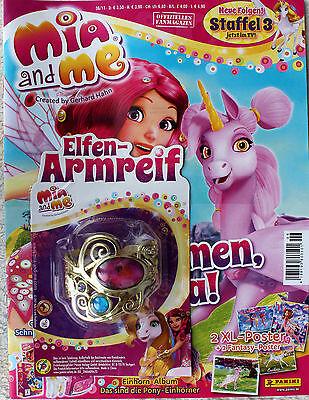 Mia and me Zeitschrift + Elfen - Armreif ~ Magazin ~ Armband ~ 2 XL Poster