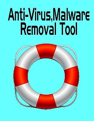 Computer Anti Virus Removal Rescue Download Tool Clean Repair Trojans Malware