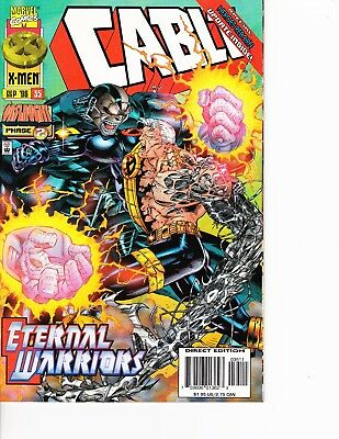 Cable Vs Deadpool (Cable #35 vs Apocalypse! Deadpool movie FREE SHIPPING @ $30)