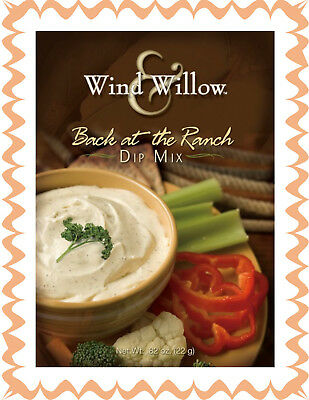 WIND & WILLOW 1 Pak Back at the Ranch Dip Mix~For Chips, Veggies, Crackers  - Dip For Crackers