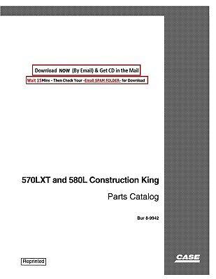 Case Ck 570lxt And 580l Backhoe Loader Service Parts Manual