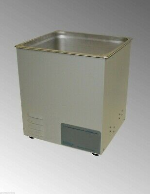 New Sonicor Stainless Steel Tabletop Ultrasonic Cleaner 3.5 Gal Capacity S-300