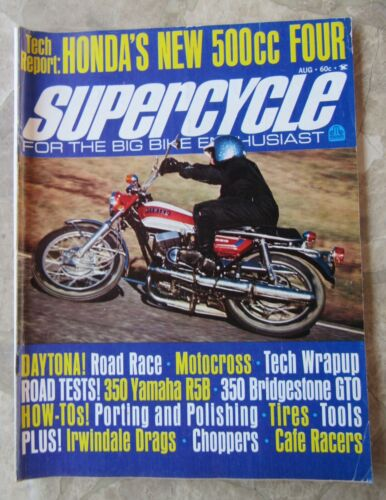 Vintage SUPERCYCLE - August 1971