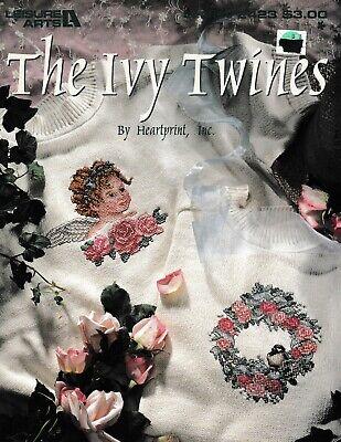 Ivy Cross (The Ivy Twines Cross Stitch | Leisure Arts)