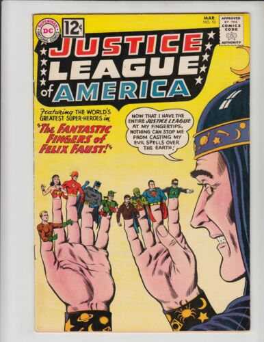 JUSTICE LEAGUE OF AMERICA #10 FN-