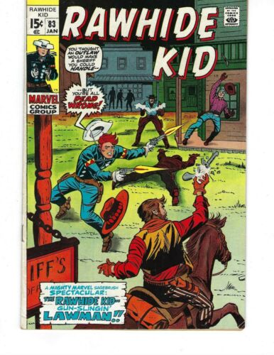 Rawhide Kid #83 - The Rawhide Kid, Lawman!