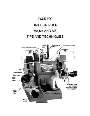 Darex M5 Drill Grinder Tips And Techniques International Version