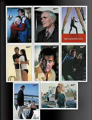 James Bond Archives Final Edition For Your Eyes Only Throwback 36 card set
