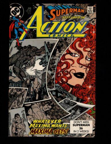 Action Comics #645 (Sep 1989, DC)