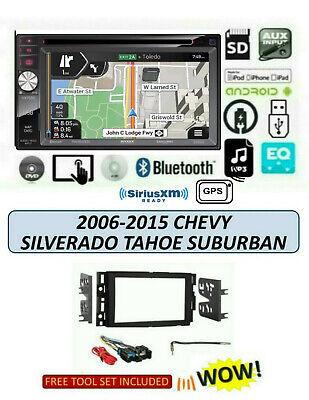 2006-2015 CHEVROLET SILVERADO TAHOE SUBURBAN Stereo TOUCHSCREEN JENSEN VX7528