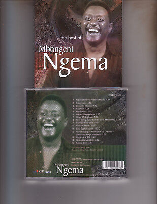 Best Of Mbongeni Ngema South African Issue CD 2001