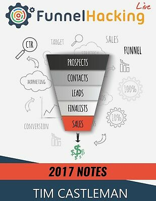 Tim castleman's Funnel Hacking Live 2017 (Russell Brunson event) ($47 value)