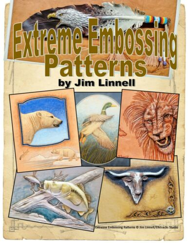 Extreme Embossing Patterns for Leather Carving by Jim Linnell (Leathercraft)